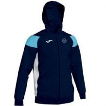 Kilkeel Swimming Club Joma Crewe III Full Zip Hoodie Navy/Sky/White Adults 2019